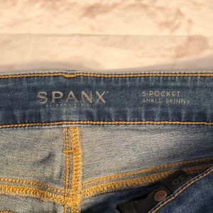 SPANX Jeans - Spanx ankle Skinny Jeans. High waist.  Size 30